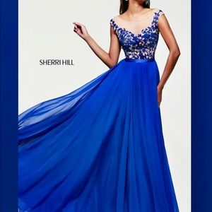 Brand new Sherri Hill prom dress
